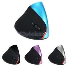 Wireless Vertical Optical Mouse Ergonomic Mice 2.4G For PC Computer Laptop