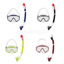Safety Adult Scuba Diving Free Diving Swimming Pool Mask Snorkel Breath Tool Set