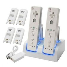 1/2/4X Rechargeable Battery Charging Dock Station Cradle For Nintendo Wii Remote
