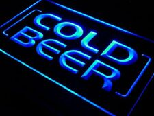 "16""x12"" i348-b Cold Beer Bar Pub Club OPEN NEW Wall Decor LED Neon Signs"
