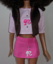 "Handmade Clothing & Accessories for 28"" Best Fashion Friend Barbie Dolls,"