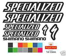 Specialized Replacement Mountain Bike Frame Vinyl Decals Stickers MTB DH XC
