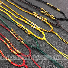 20PCS Mixed Color Chinese Knot String Cord  Necklace  Handmade For Jade Pendant