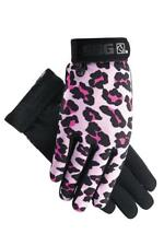 PINK LEOPARD SSG All Weather Ladies Horseback Riding Gloves Horse NEW! GIFT!