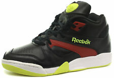 Reebok Classic Court Victory Pump Black/Red Unisex Trainers ALL SIZES