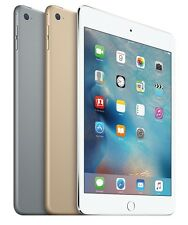 "Apple iPad mini 4 th Gen 16GB 64GB 128GB Wi-Fi 7.9"" Retina Tablet Grade C"