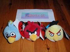 *NEW* Angry Birds Back Pack, Bag or Key Chain Clip Soft Plush Toy