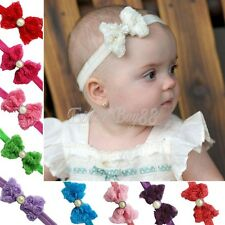 Kids Baby Girls Flower Bowknot Head Band Bow Headband Hair Accessories Headwear