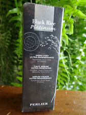 Perlier Black Rice Platinum Face Aage-Defying Serum full size 2 fl oz NEW SEALED