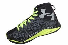 NEW Youth Under Armour BGS Fire Shot Basketball Shoes - 1276857-002