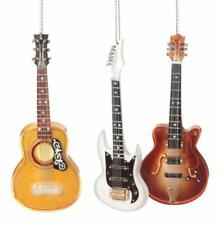 """NEW 7"""" Realistic Acoustic Electric Archtop Guitar Christmas Ornament 947784"""