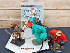 Disney Infinity Bundle Lot PS3 Playstation 3 - Pirates Monsters Inc Incredibles