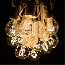 100 Foot - G30, G40 and G50 Globe String Lights for Backyards, Parties and more
