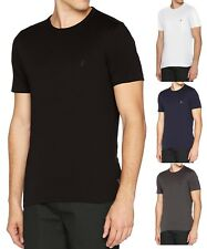French Connection Mens Crew Neck Tee Basic Plain Logo T-Shirt Top S M L XL XXL