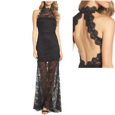 Elegant Charming Women Fashion Sexy Backless Lace Hollow Out Long Style Dresses