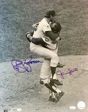 JERRY KOOSMAN/JERRY GROTE (Mets) authentic autographed signed 69 WS 11x14 photo