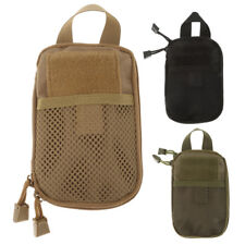 Molle 1000D Nylon Tactical EDC Utility Tool Bag First Aid Pouch Case Holder