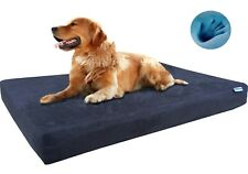 Orthopedic Memory Foam Pet Bed for Small Medium Large XL Dog and Waterproof Case