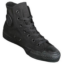 Converse Chucks Hi Unisex Black All Black - High Chuck Taylor All Stars