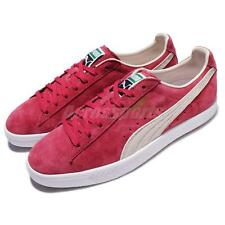 Puma Walt Clyde Frazier Barbados Red Men Casual Shoes Sneakers 361466-03