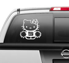 NY New York Giants Window Sticker Decal any size any color