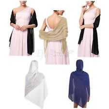 Women Fashion Soft Chiffon Scarf Wrap Lady Shawl Stole Scarves Bridal Party