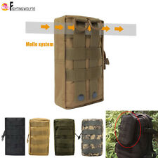 Tactical Molle Accessory Pouch w/ Hanging Buckle Medical Magazine EDC Waist Bag