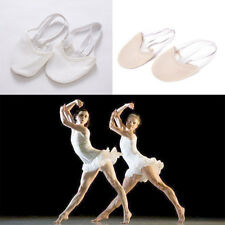 Half PULeather Sole ballet pointe Dance Shoes Rhythmic Gymnastics Slippers EF