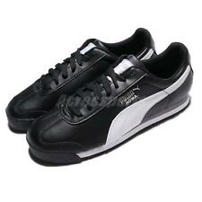 Puma Roma Basic Leather Black White Men Casual Shoes Sneakers Trainers 353572-11