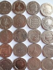 RARE 20p coins of Gibraltar, Jersey , Guernsey & Isle of Man / 20 pence coins