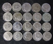 Roll (20) 40% Silver Kennedy Half Dollar Coins - 1965 to 1969 - No Reserve