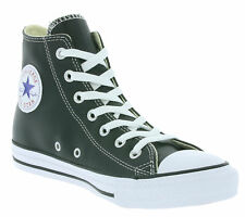 New Converse Chucks Chuck Taylor All Star Real Leather Sneaker Black Trainers