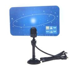 DIGITAL INDOOR UNIVERSE PICTURE HDTV DTV BOX VHF UHF HIGH GAIN TV ANTENNA C4X2