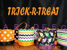 Personalized Halloween Bucket, Trick or treat bucket, Trick or treat bag