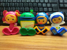 6CM Team Umizoomi Action Figure Milli Bot and Geo Set of 4 Kid Gift