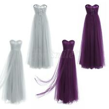 Formal Wedding Bridesmaid Dress Women lady Evening Party Ball Prom Gown Cocktail