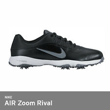 Nike 2017 Men's Golf Shoes AIR Zoom Rival 5 Spike 5ea Replacable Tri-Lock /Black