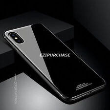Ultra Thin Aluminum Metal Bumper Hard Back Case Cover For iPhone X 7 8 Plus S001