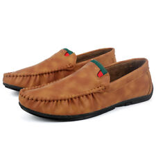 Mens Casual Leisure Comfy Moccasins Driving Shoes Non-Slip Loafer  Leather CER4