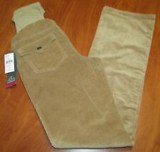 NEW OH BABY BY MOTHERHOOD SECRETLY FIT BELLY TAN CORDUROY MATERNITY PANTS S M