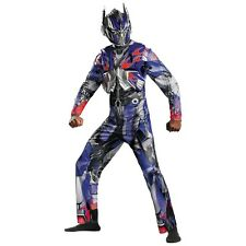 Optimus Prime Deluxe Costume Transformers Halloween Fancy Dress