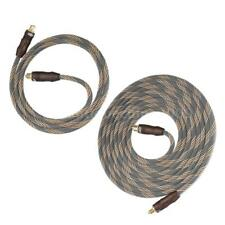 3.3/9.8ft Digital Toslink Optical Audio Cable 24k Gold Plated for CD DVD TV G0P8