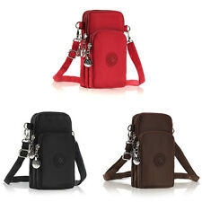 """Unisex Cross-body Cell Phone Shoulder Bag Case Wallet Purse For 5.5"""" Cell iPhone"""