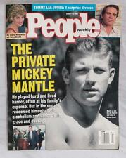 People - August 28, 1995 Back Issue Mickey Mantle Princess Diana tthc