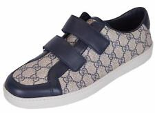 NEW Gucci Men's 353688 GG Supreme Canvas Tessuto Low Top Trainers Shoes