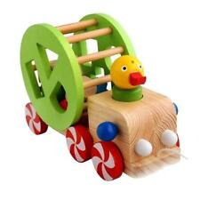 MagiDeal Baby Early Cognitive Intellectual Blocks Car Tree Montessori Wooden Toy