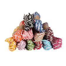 10M 2mm paper Twine Wedding Party DIY Craft String Ribbon 11 Divine Colours