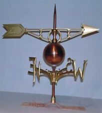 Weathervane Copper Lightning Rod #701 with Choice of Ball  Robbins Lightning
