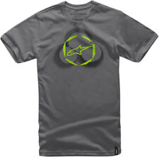 ALPINESTARS TRIO Short Sleeve Tee T-Shirt (Charcoal) Choose Size