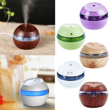 Essential Aroma Diffuser Ultrasonic Humidifier Air Purifier Atomizer 5 Colors